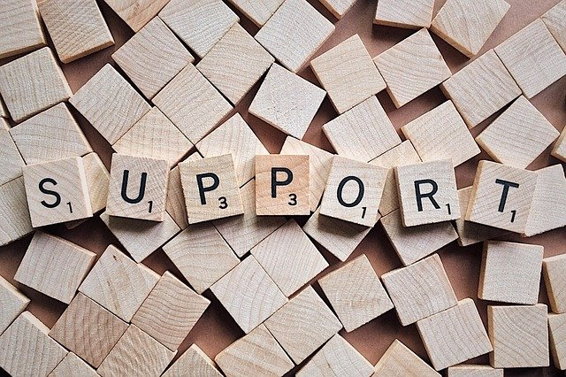 充実のサポート
